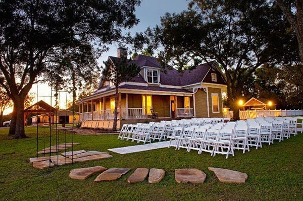 1899 Farmhouse outdoor wedding venue