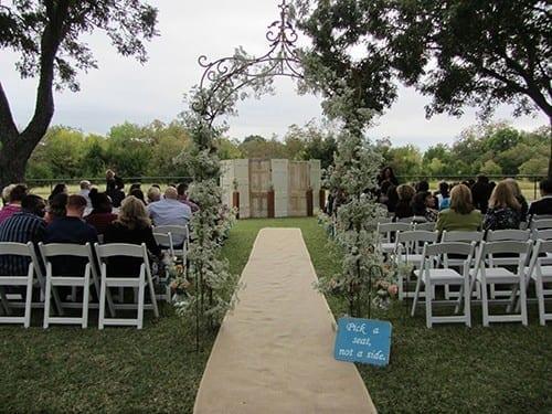 Doors Unique Outdoor Wedding Decorations