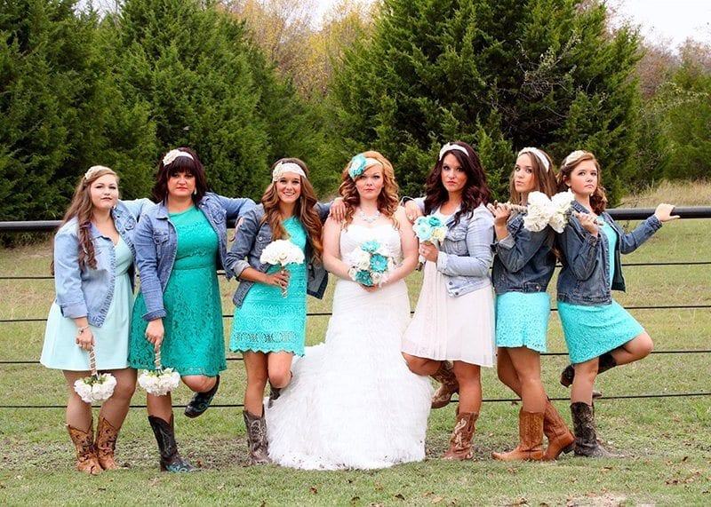 Country Wedding Attire